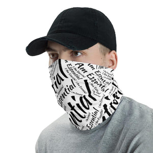 I am Essential Neck Gaiter (white)