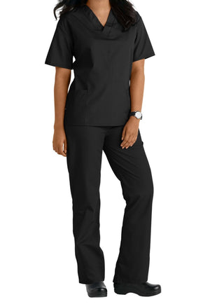 Basic Uniforms Unisex 6 Pocket Scrub Set - Grace Health Scrubs, LLC