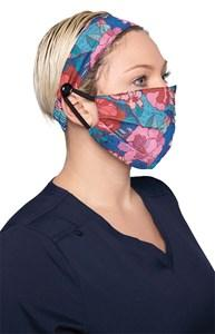 koi Fashion Mask + Headband Set - Line Floral