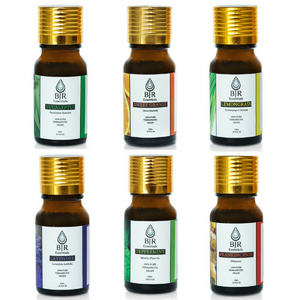 Popular set of 6 therapeutic grade pure essential oils