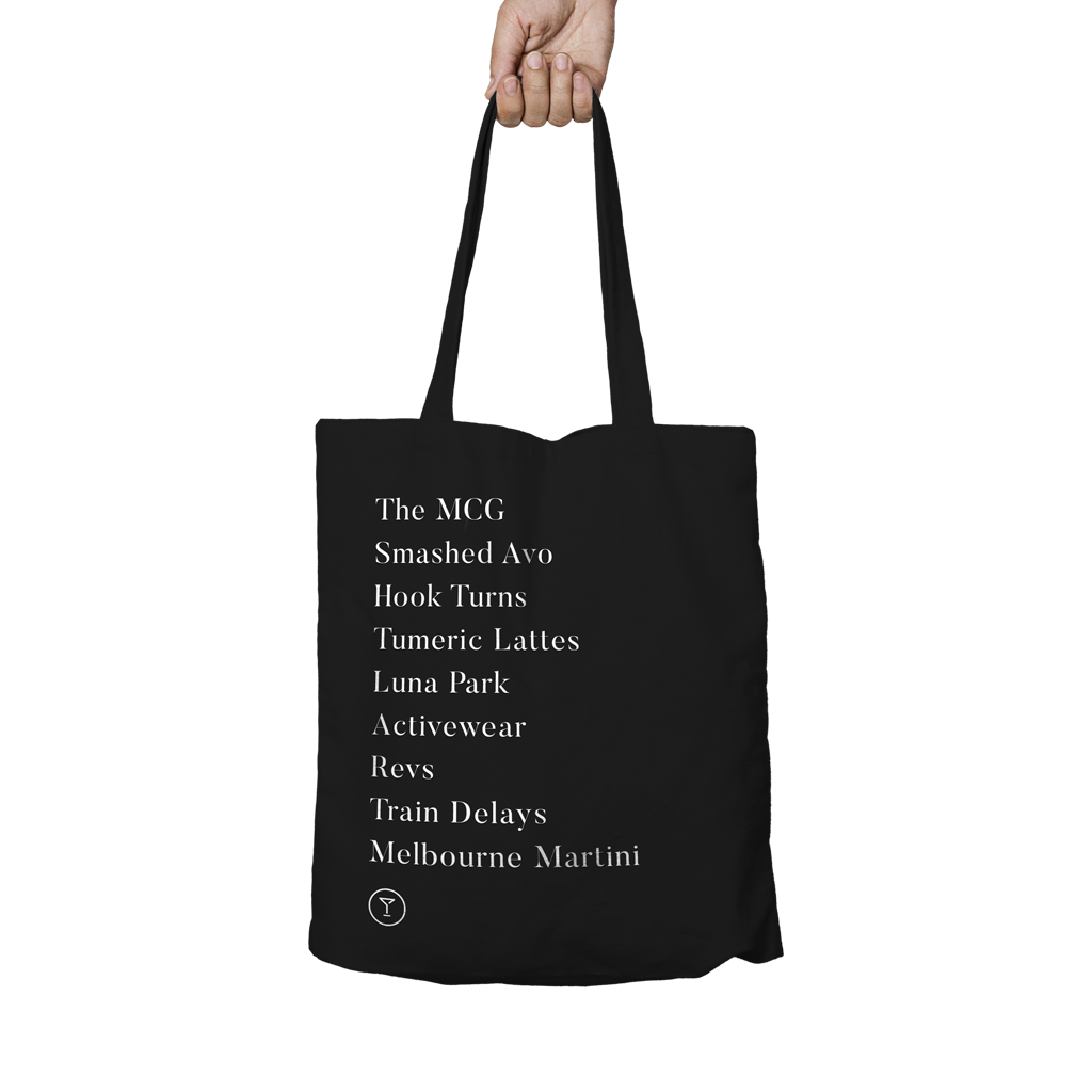 'Melbourne Things' Tote Bag