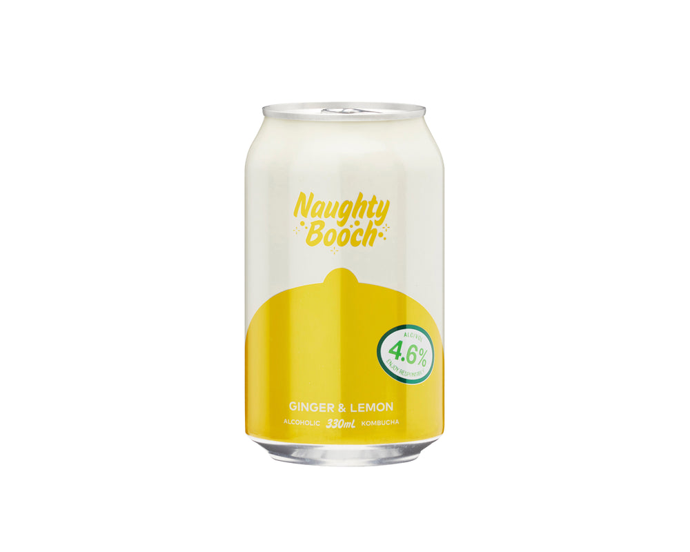 Naughty Booch- Ginger & Lemon