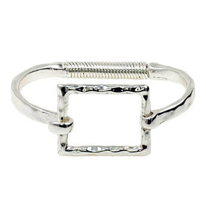 Bangle with Square Hook Closure