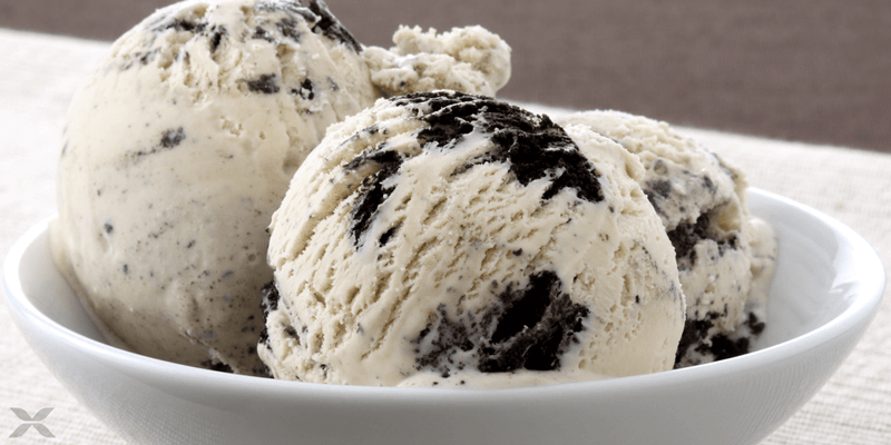 The Ultimate Cookies & Cream Protein Ice Cream from HEXAPRO