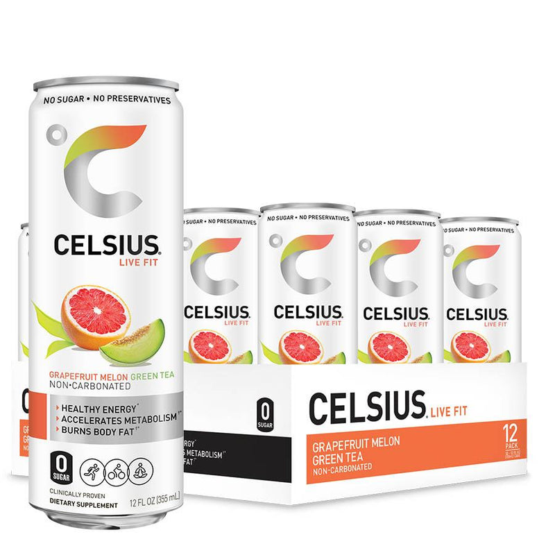 Celsius Ready to Drink Non-Carbonated (355ml) 12 Cans