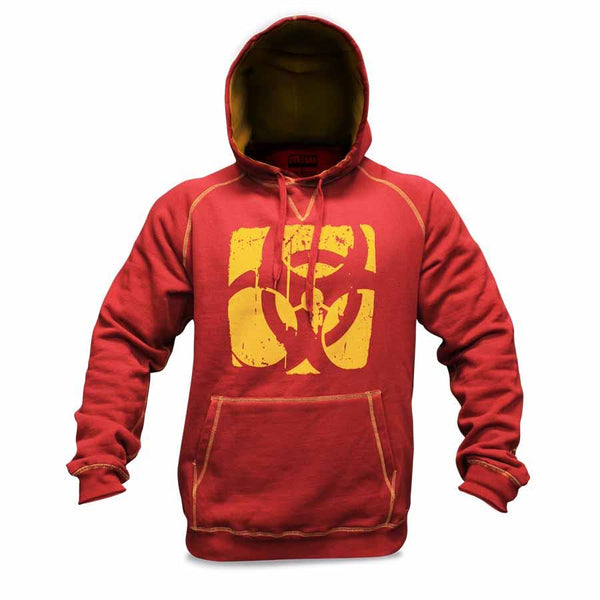 Clothing - Mutant Hoodie – Contrast Stitch (Burgundy)