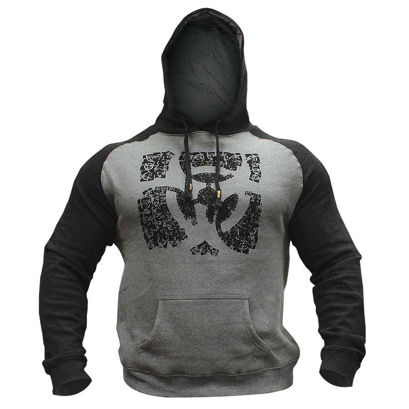 Mutant Hoodie Train Like Hell Pullover (Grey)