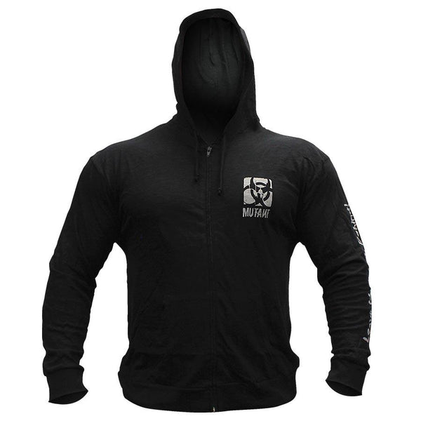 Clothing - Mutant Hoodie Weightlifting Zip-Up (Black)