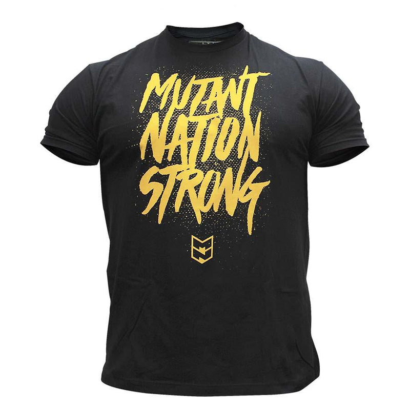 Clothing - Mutant T-Shirt Mutant Nation Strong (Black)