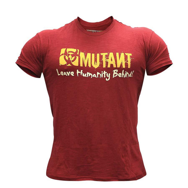 Clothing - Mutant T-Shirt Train Like Hell (Red)