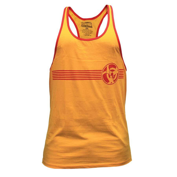 Clothing - Mutant Tank Top Retro T-Back (Yellow)