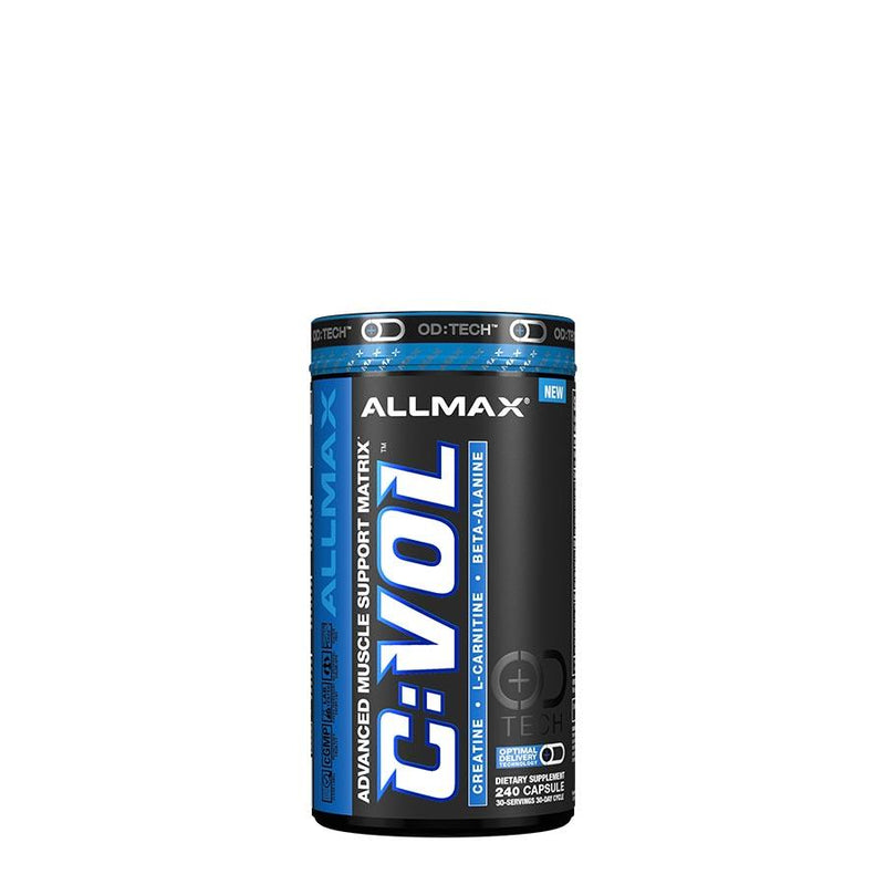 Allmax Nutrition C:VOL OD:TECH Advanced Muscle Support Matrix (210 capsules) - Performance - Gladiator Fitness