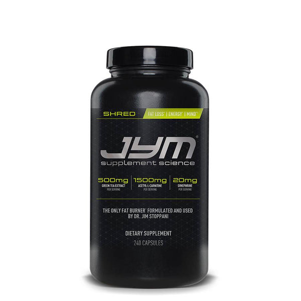 JYM Supplements Shred (40 Serve) 240 Capsules