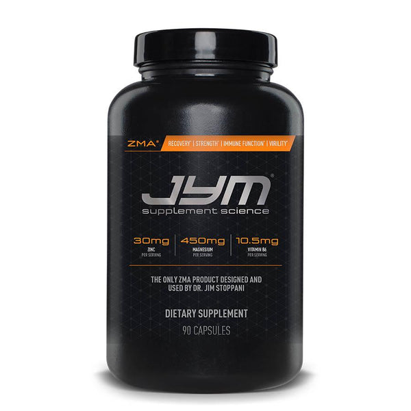 JYM Supplements ZMA (30 Serve) 90 Capsules