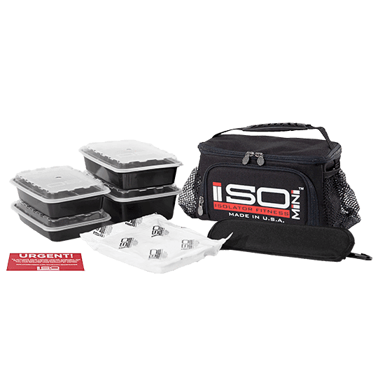 ISOMINI Compact Meal Prep Cooler Bag - Accessories - Gladiator Fitness