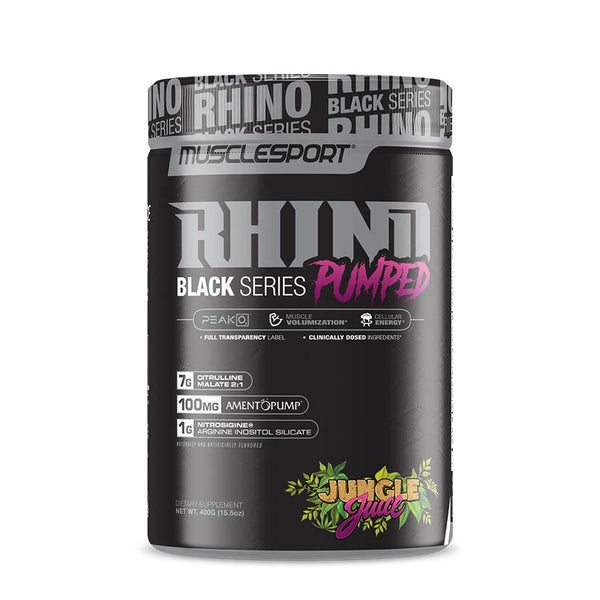 MuscleSport Rhino Pumped (40 Serve) 400g