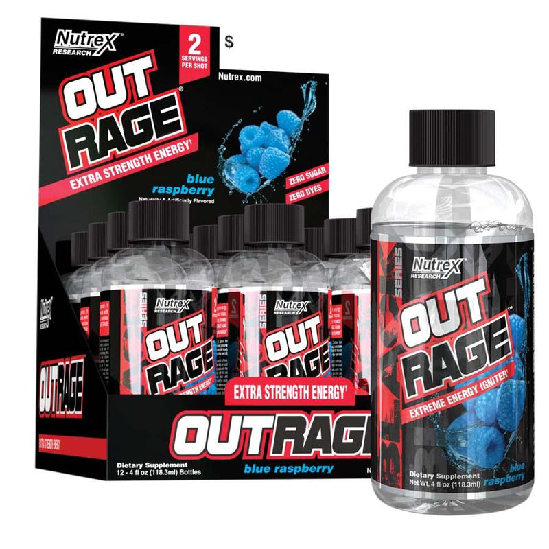 Nutrex Research Outrage Shots (118ml) 12 Pack