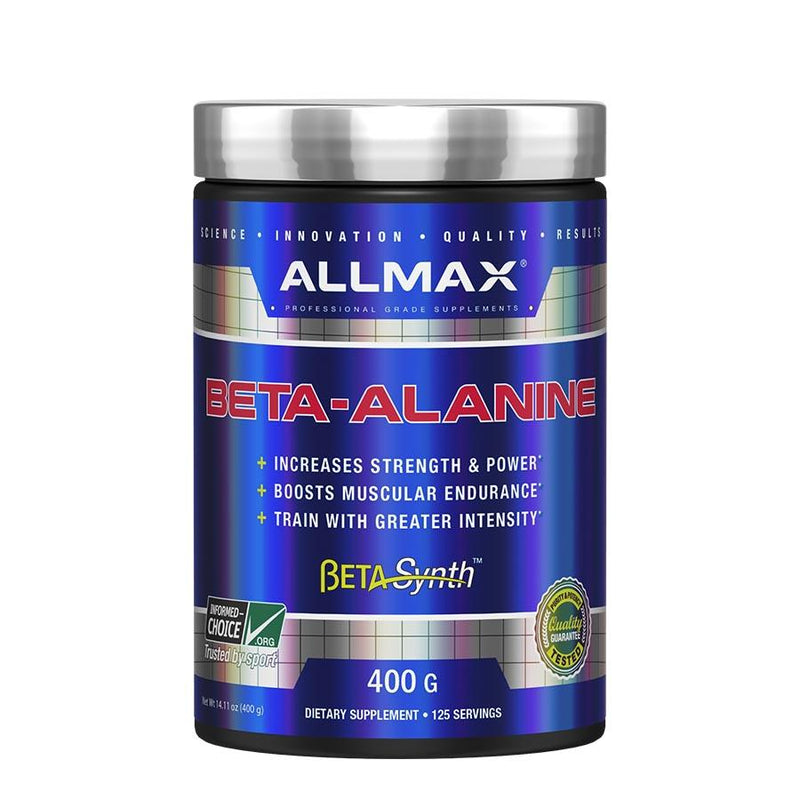 Allmax Beta-Alanine (125 serve) 400g