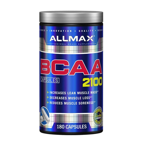 Performance - Allmax Nutrition BCAA 2100 (60 Serve) 180 Capsules