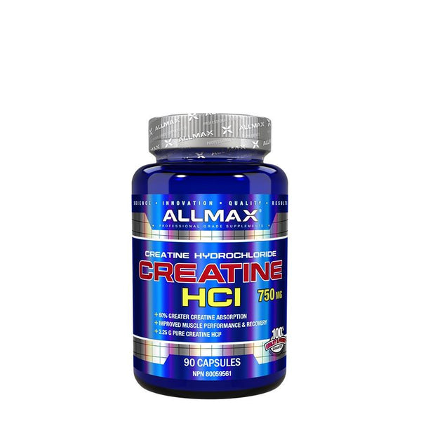 Performance - Allmax Nutrition Creatine HCI (90 Capsules)