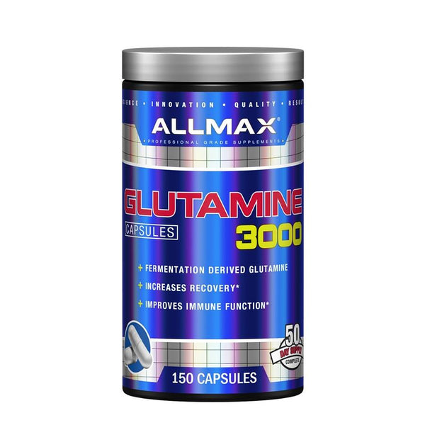 Performance - AllMax Nutrition Glutamine 3000 (50 Serve) 150 Capsules