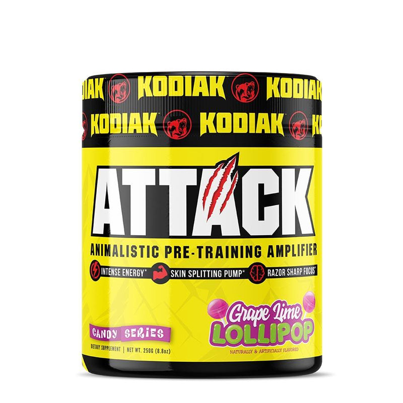 Kodiak Attack Pre Workout (25 Serve) 250g