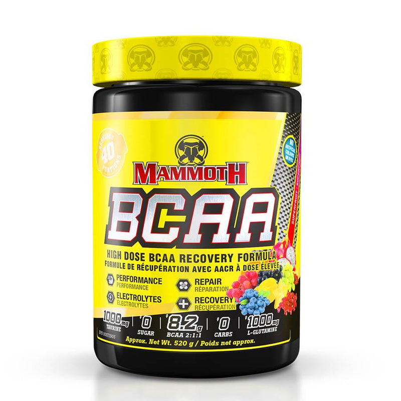 Performance - Mammoth BCAA (40 Serve) 520g