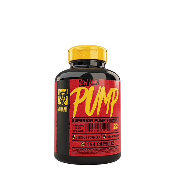 Performance - Mutant Pump (22 Serve) 154 Capsules