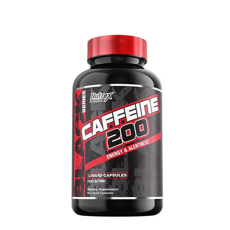 Nutrex Research Caffeine 200 (60 Serve) 60 Capsules