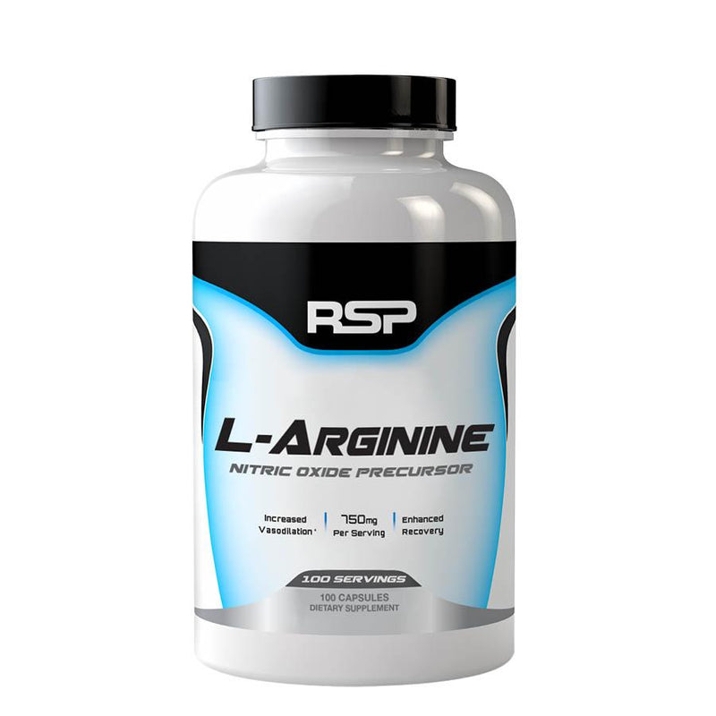 Performance - RSP Nutrition L-Arginine (100 Serve, 100 Capsules)