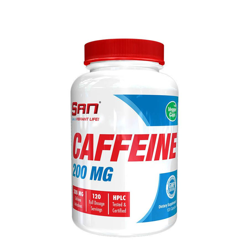 Performance - SAN Nutrition Caffeine (120 Serve) 120 Capsules