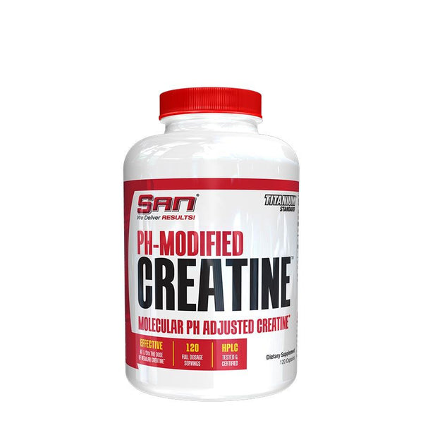 Performance - SAN Nutrition PH-Modified Creatine (120 Serve) 120 Capsules