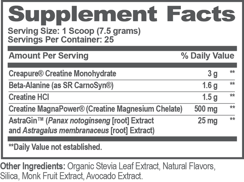 The Genius Brand Genius Creatine Power Matrix (25 Serve) 188g