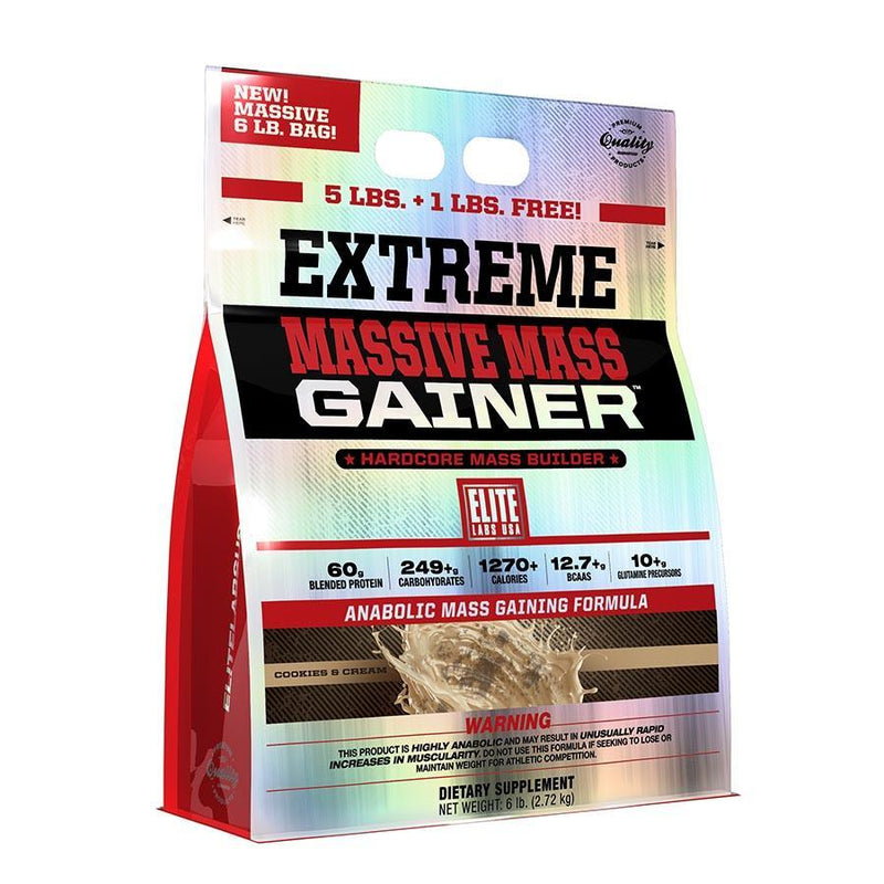 Protein - Elite Labs USA Extreme Massive Mass Gainer 2.27kg