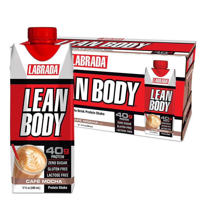 Protein - Labrada Lean Body Ready-To-Drink (500ml) 12 Pack