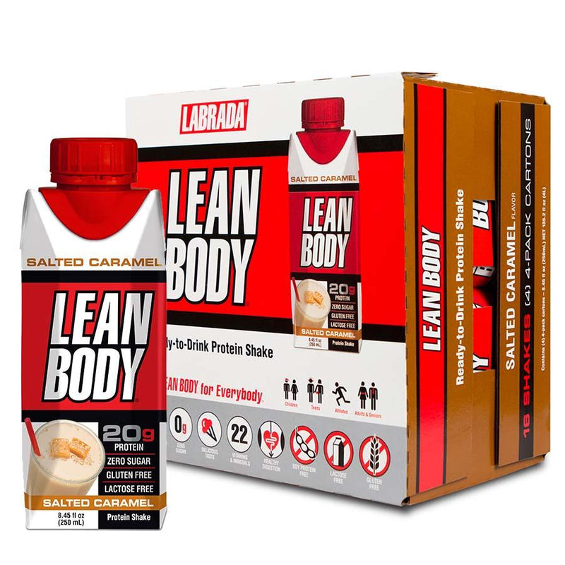 Labrada Nutrition Lean Body 20g Protein (RTD, 16x 250ml)