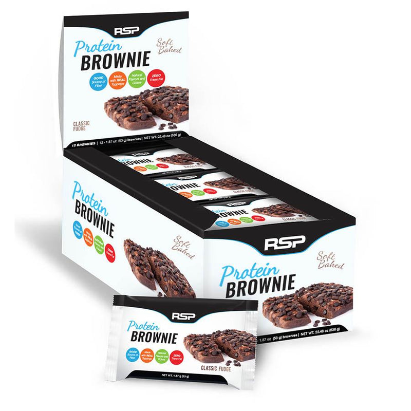 RSP Nutrition Protein Brownie (12 x 53g)
