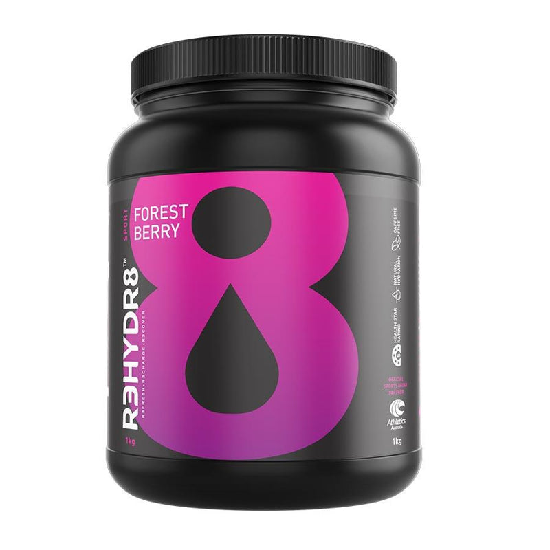 R3HYDR8 (21 serve) 450g Forest Berry