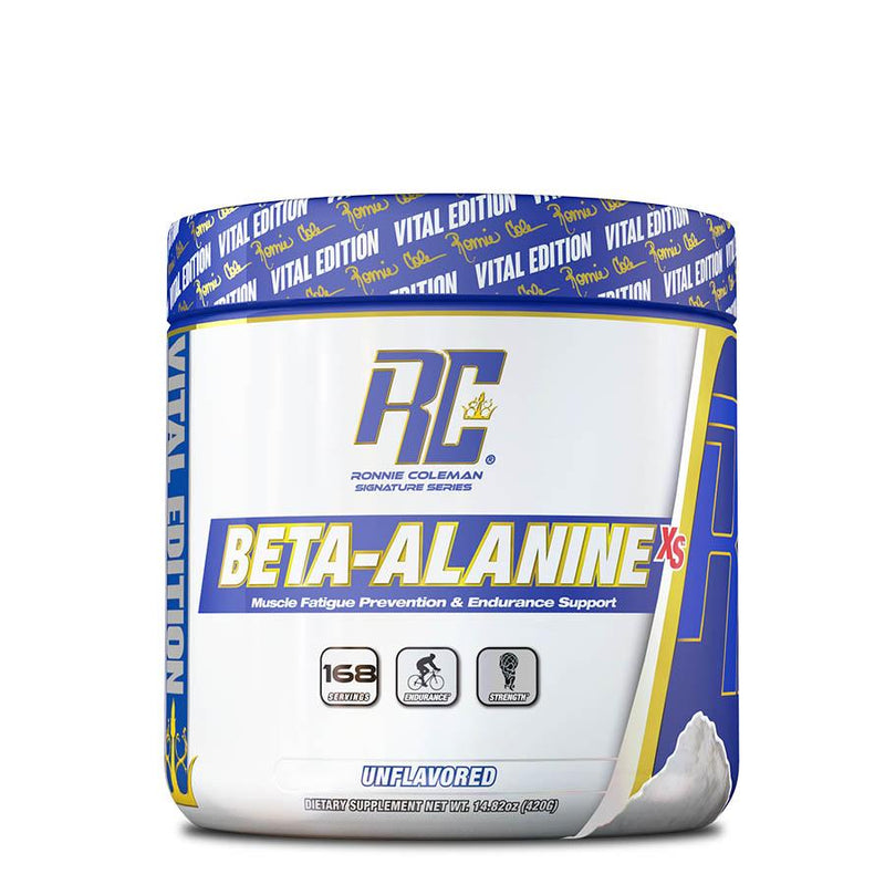 Supplements - Ronnie Coleman Beta-Alanine XS (168 Serve) 420g Unflavoured