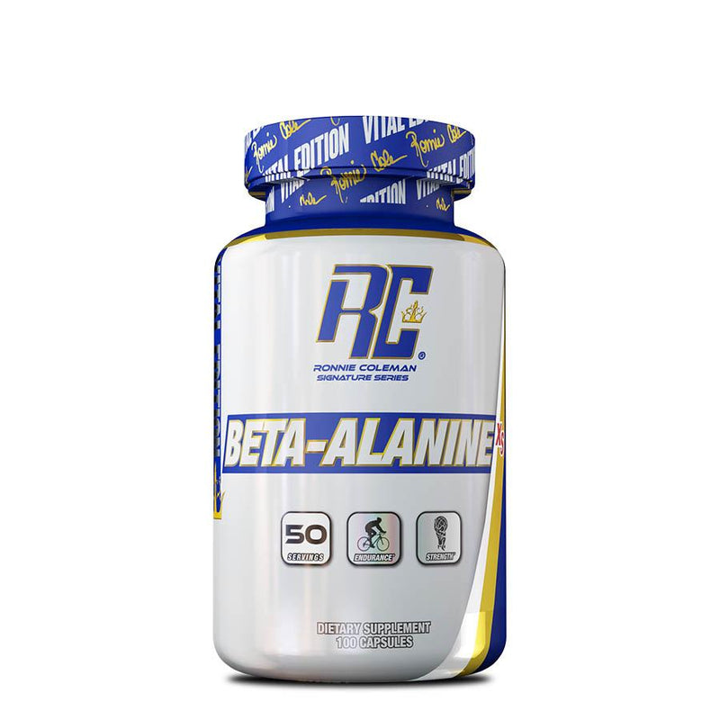 Ronnie Coleman Beta-Alanine XS (50 Serve) 100 Capsules