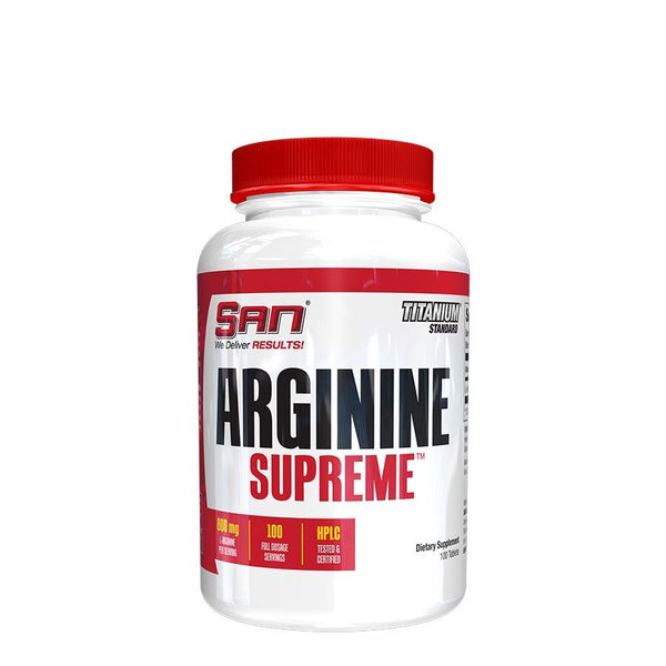 Supplements - SAN Nutrition Arginine Supreme (100 Serve) 100 Tablets