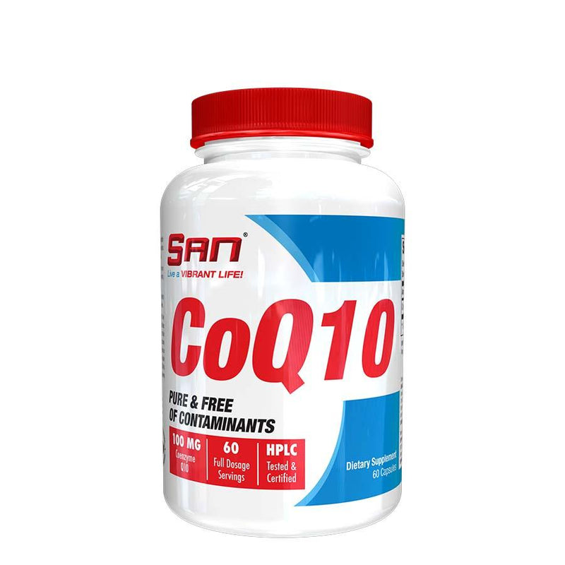 SAN Nutrition CoQ10 (60 Serve) 60 Capsules