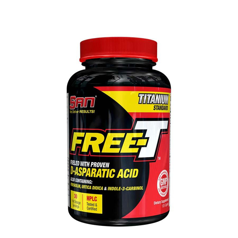 Supplements - SAN Nutrition Free-T (30 Serve) 120 Capsules