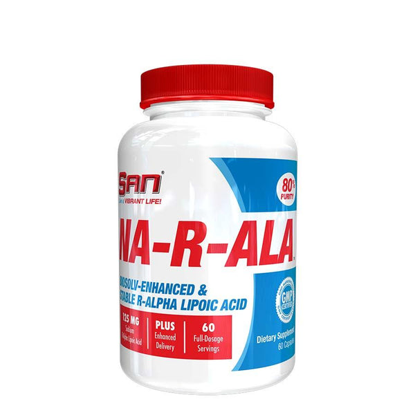 Supplements - SAN Nutrition NA-R-ALA (60 Serve) 60 Capsules