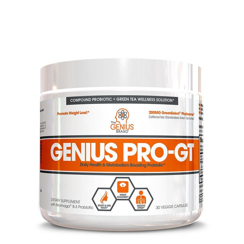 Supplements - The Genius Brand PRO-GT (30 Serve) 30 Veggie Capsules