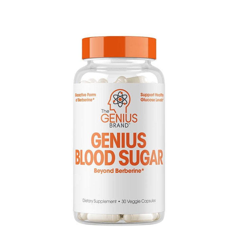 The Genius Brand Blood Sugar (30 Serve) 30 Veggie Capsules