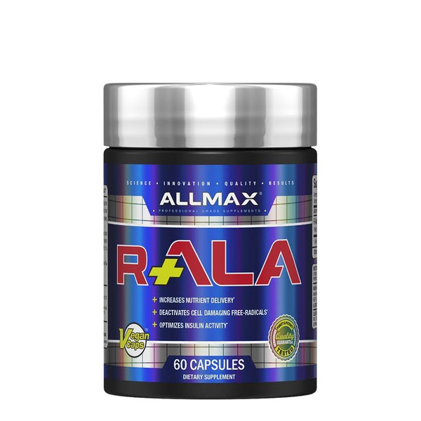 Vitamins & Health - Allmax Nutrition R+ALA (60 Serve) 60 Capsules