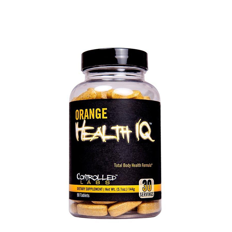 Vitamins & Health - Controlled Labs Orange Health IQ (30 Serve) 90 Tablets