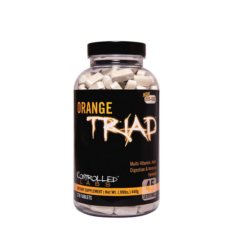 Vitamins & Health - Controlled Labs Orange Triad (45 Serve)