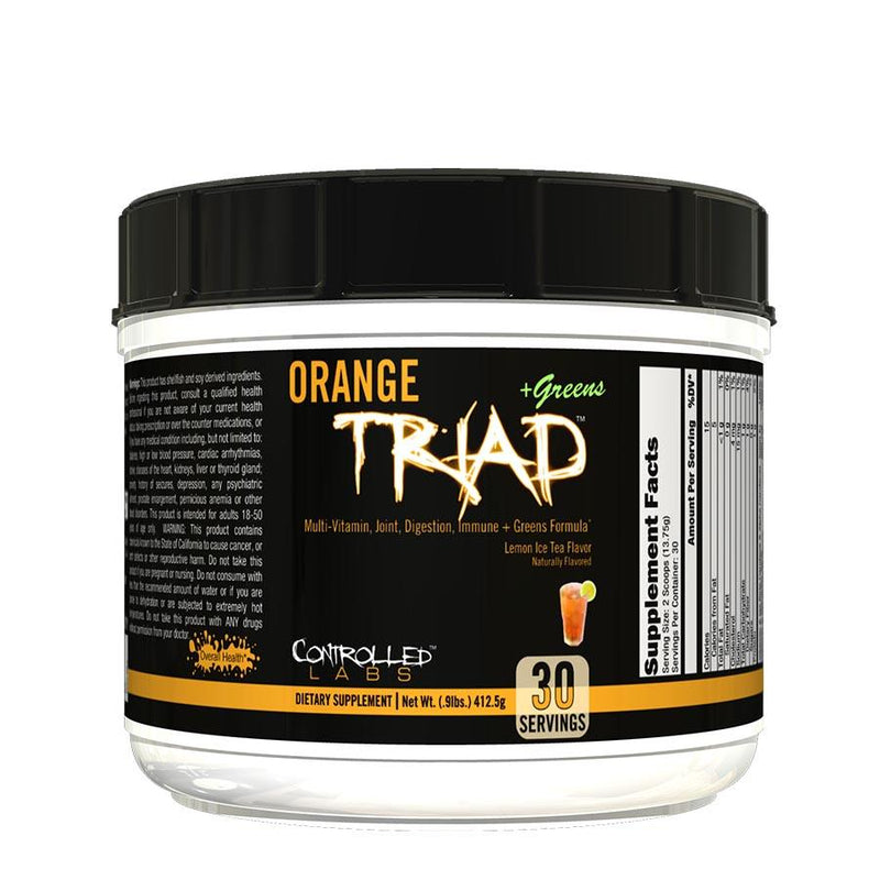 Controlled Labs Orange Triad + Greens (30 serve) 408g